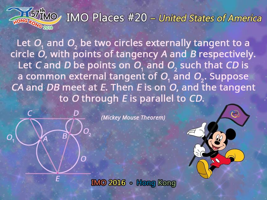 Mickey Mouse Theorem